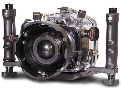 Wildlife Filmaking and photography equipment ikilite housing for 7d