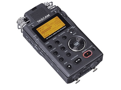 Wildlife Filmaking and photography equipment tascam audio records